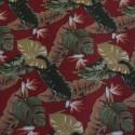 Tecido Gorgurão Waterblock Costela-de-Adão Vermelho