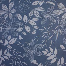 Tecido Gorgurão Waterblock Floral Azul