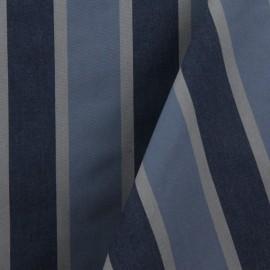Tecido Popeline Listrado Azul