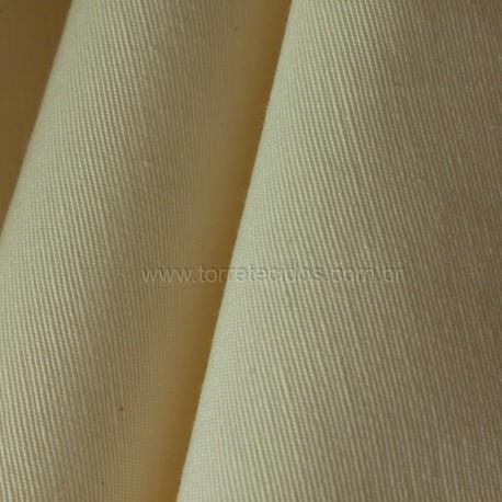 Gorgurão Verona Liso Duplo Marfim