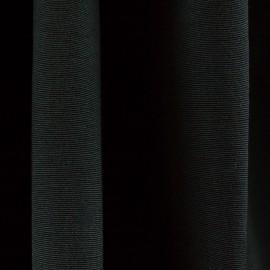 Tecido Gorgurão Verona Liso Duplo Preto