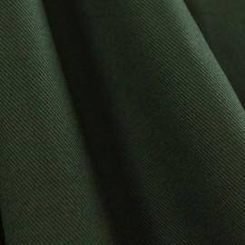 Tecido Sarja de Algodão Peletizada Verde Musgo