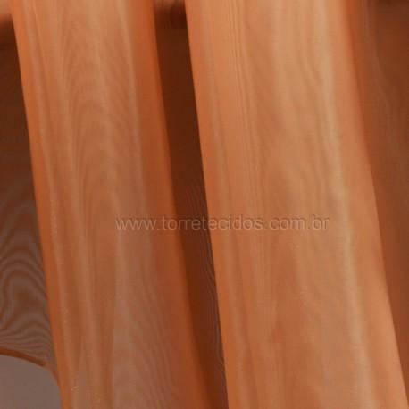 Voil Rustico Frizado Anfra - laranja