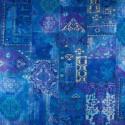 Tecido Veludo Vellus Istambul Azul