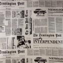 Tecido Veludo Estampado Vellus News
