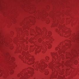 jacquard vermelho