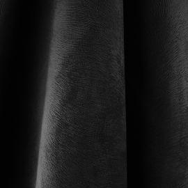 Tecido Veludo Animale Liso Preto