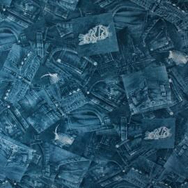Tecido Gorgurão Belize Jeans Azul