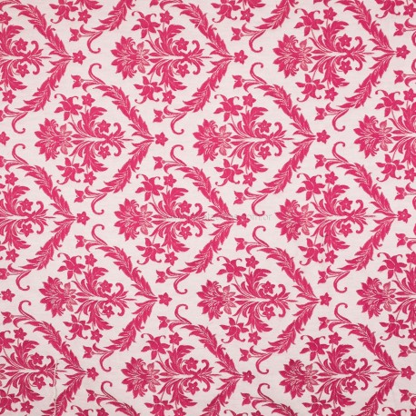 Jacquard Adamascado Titan Pink