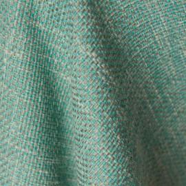 Tecido Jacquard Rústico Azul Tiffany