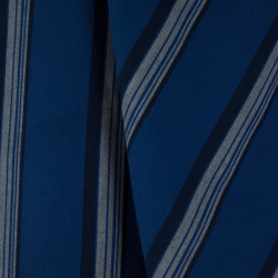 Algodão Colorê Listrado Azul Royal