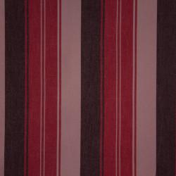 Algodão Colorê Listras Vermelho/Marrom