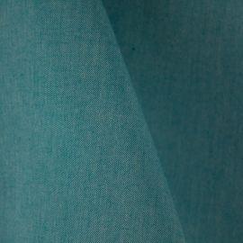 Tecido Algodão Bicolor Azul Tiffany