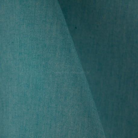 Algodão Bicolor Azul Tiffany