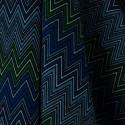 Tecido Algodão Estampado Etnico Verde/Azul