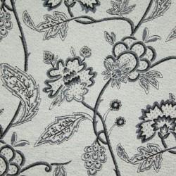 Jacquard Flores Tubique Preto