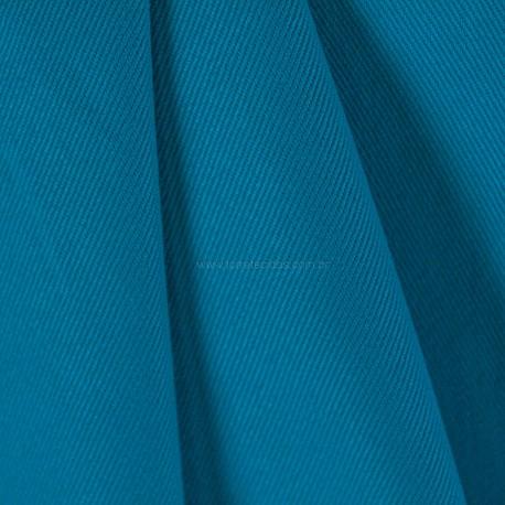 Tecido Sarja Delfi Azul Turquesa