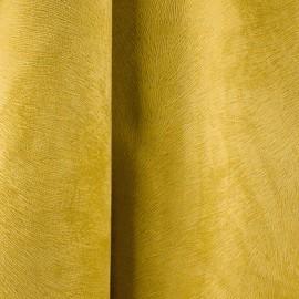 Tecido Veludo Animale Liso Amarelo