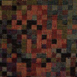 Tecido Gobelem Pixel Preto