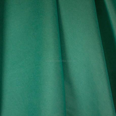 Tecido Veludo Vellus Liso Azul Tiffany