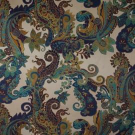 Tecido Veludo Vellus Florença Azul