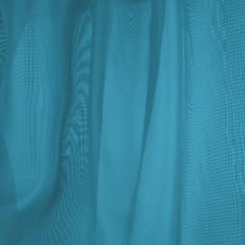 Tecido Voil Azul Turquesa