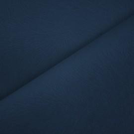 Tecido Veludo Animale Pena Azul Escuro