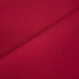 Tecido Veludo Animale Pena Vermelho