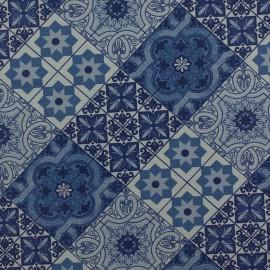 Tecido Gorgurão Waterblock Azulejo Azul