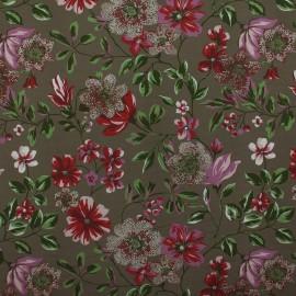 Tecido Gorgurão Belize Floral Fendi