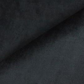 Tecido Veludo Liso Preto