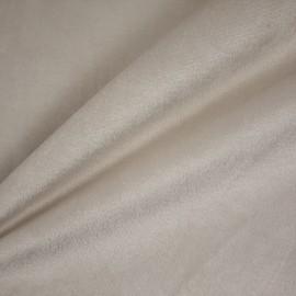 Tecido Veludo Liso Marfim