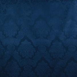 Tecido Veludo Medalhão Azul Marinho Legacy
