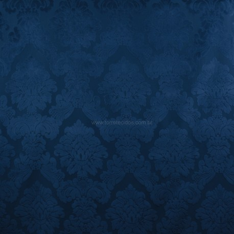 Veludo Medalhão Azul Marinho Legacy