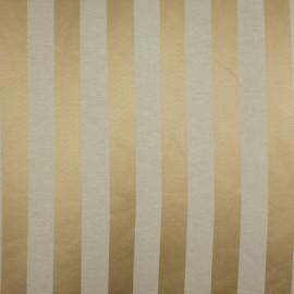 Tecido Jacquard Listrado Dourado