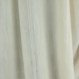 Tecido Voil Fantasia Listrado Marfim