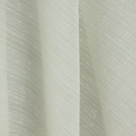Tecido Voil Fantasia Botonê Marfim