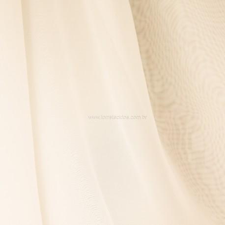Tecido Voil  Marfim