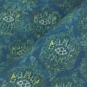 Tecido Linho Misto Mandala Azul