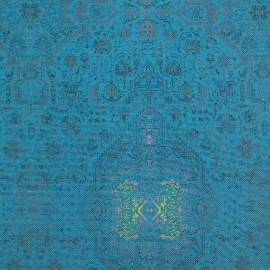 Linho Misto Kilim Azul