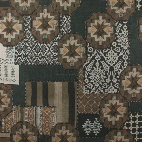 Linho Misto Marrakeshi