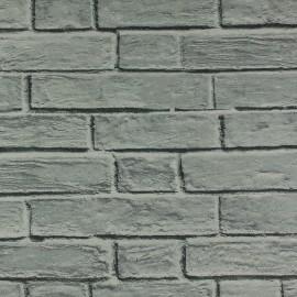 Tecido Gorgurão Wall Linea Tijolo Cinza
