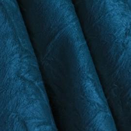 Tecido Suede Amassada Azul