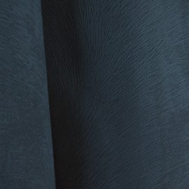 Tecido Veludo Animale Liso Azul Petróleo