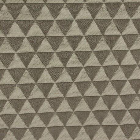Jacquard Triângulos Cinza