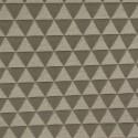 Tecido Jacquard Triângulos Cinza