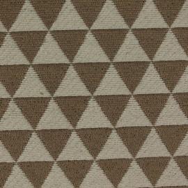 Tecido Jacquard Triângulos Fendi