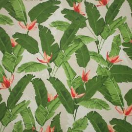 Tecido Gorgurão Waterblock Folhas de Bananeira