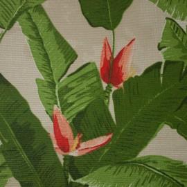 Gorgurão Waterblock Folhas de Bananeira