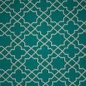 Tecido Gorgurão Waterblock Geométrico Tiffany/Crú
